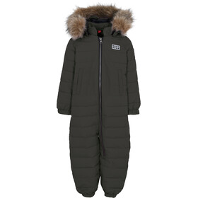 LEGO wear Lwjunin 708 Snowsuit Kinderen, dark khaki